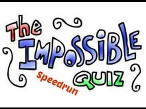 The Impossible Quiz Demo Speedrun 00:00:24