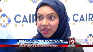 Muslim couple claims discrimination after being kicked off Delta flight