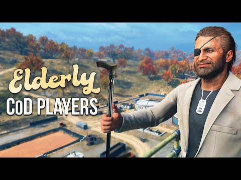 Elderly CoD Players Attempt to Relive Glory Days in Blackout