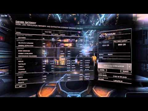 Elite Dangerous Tutorial [Export] using trade map - Tutorial 4