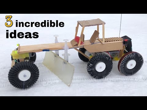 3 incredible ideas and Awesome Homemade inventions