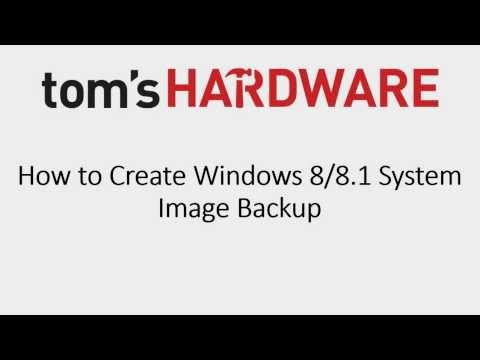How To Create Windows System Image Backup in Windows 8
