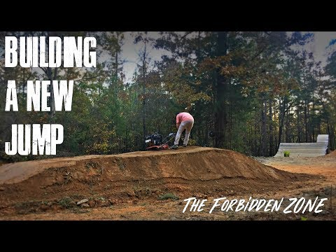 Building a Mountain Bike Jump | Forbidden Zone, Chewacla State Park