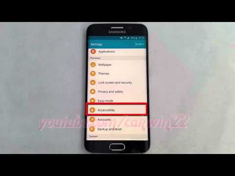 Android Lollipop : How to Enable or disable Gesture wake up on Samsung Galaxy S6
