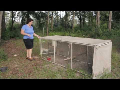 Chicken Coop Ideas. A tour of Becky's chicken coop designs.