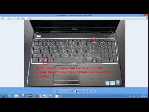 Take Screenshot From DEL Laptop in Windows