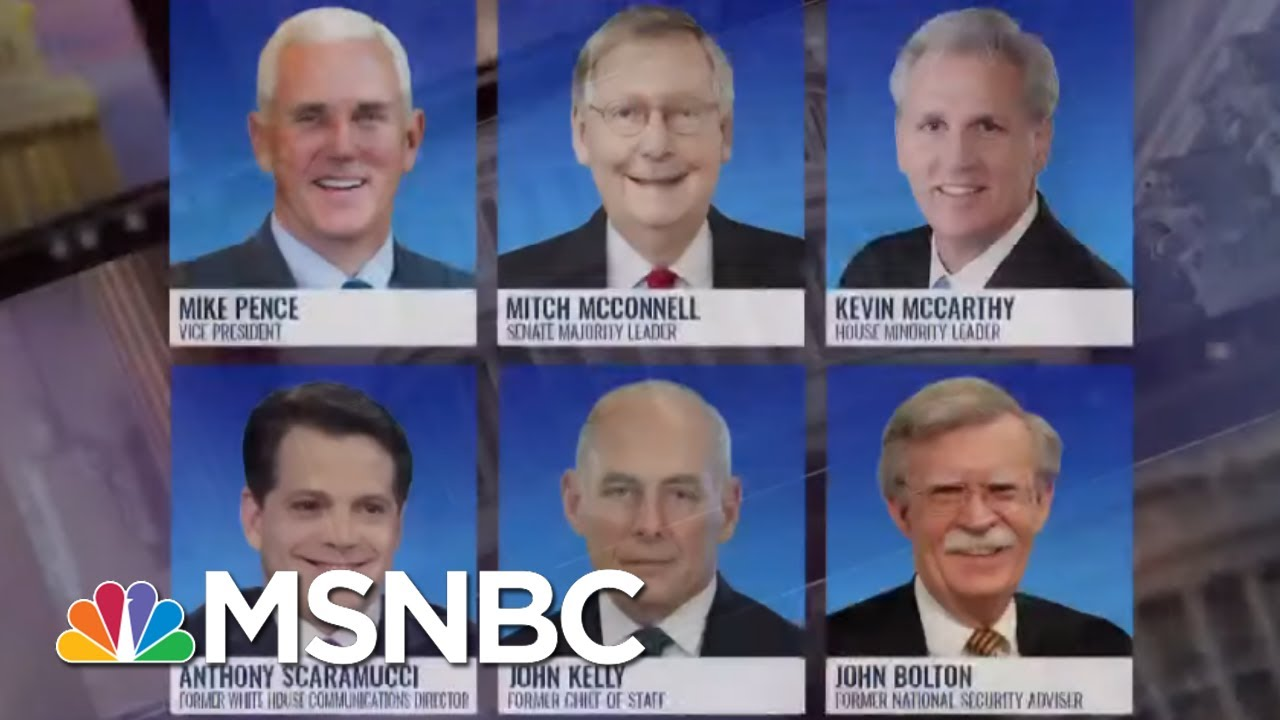 GOP Leaders Cordially Decline Trump's Going Away Party | The ReidOut | MSNBC
