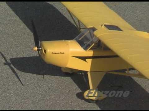 Spotlight: Flyzone RC Select Scale Piper Super Cub Rx-R Plane