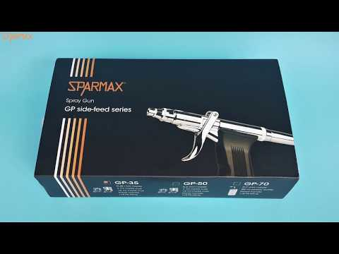 Sparmax GP-35 Pistol-Grip Dual-Action Airbrush Review & Test