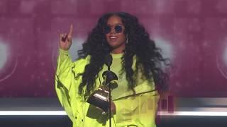 Download H.E.R. Wins Best R&B Album Presented by BTS | 2019 GRAMMYs Acceptance Speech Video