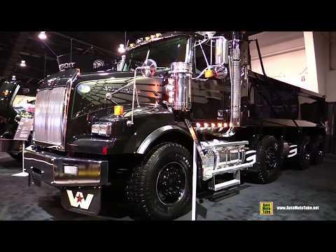 2018 Western Star 4900 SB Dump Truck - Exterior and Interior Walkaround - 2018 Truckworld