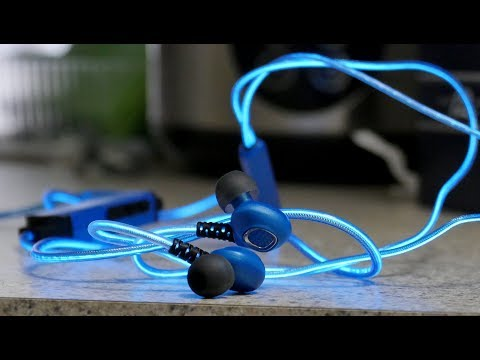 Glowing Head Phone with Mic.