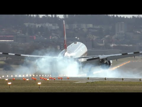 Boeing 777 HITS the ground & A330 pilot shows RUDDER SKILLS