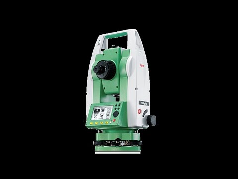 How to Set Leica Total Station Ts02-06-09 with Resection in Urdu/Hindi