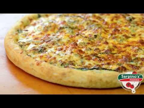 Spinach Special Pizza - Sarpino's Pizzeria Video