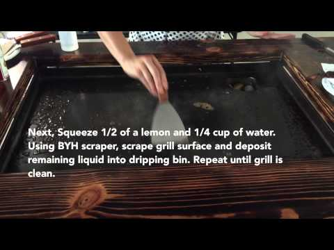 How to Clean a Backyard Hibachi Grill