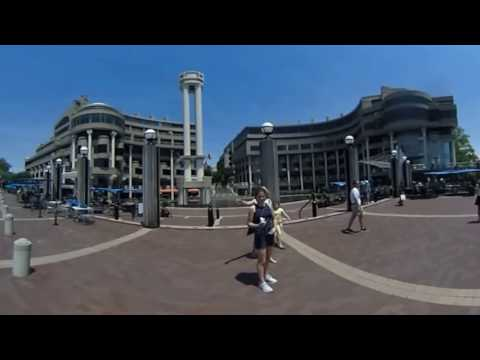 DC 360: Georgetown Waterfront during summer