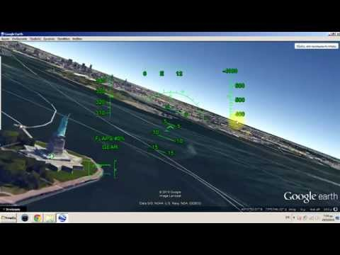 How to  Fly on Google Earth Map with airplane