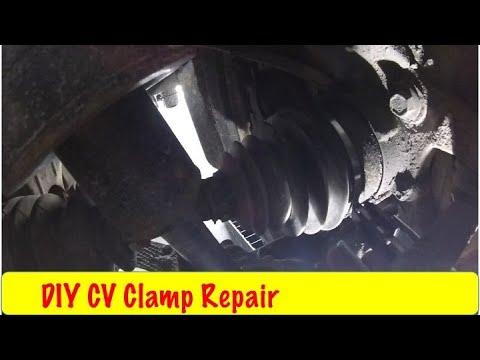 CV Boot Clamp Repair DIY