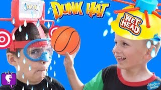 DUNK HAT and WET HEAD Challenge! DON