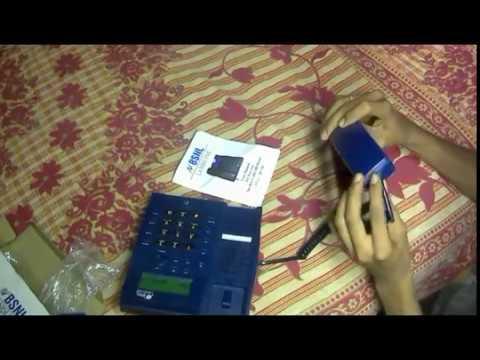 Setup + unboxing | BSNL Landline