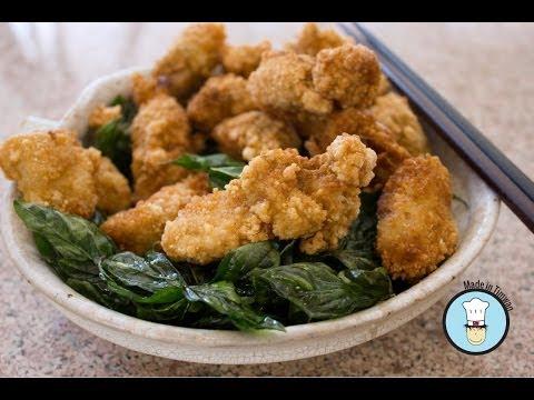 Taiwanese Popcorn Chicken - 鹽酥雞 (Yán sū jī)
