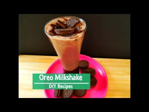Oreo cookies milkshake recipe | Oreo milkshake without ice cream | Oreo shake by DIY Recipes