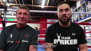 JOSEPH PARKER REVEALS HOW HE IS ABLE TO CONTROL HIS EMOTIONS RIGHT BEFORE A FIGHT