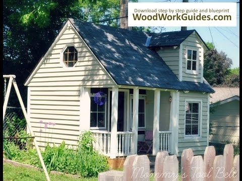 Wooden Playhouse DIY (Step by Step Guide)