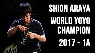 Shion Araya - 1A Final - 1st Place - World Yoyo Contest 2017