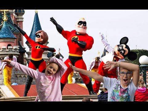 The Incredibles' challenge show in Euro Disneyland PAris