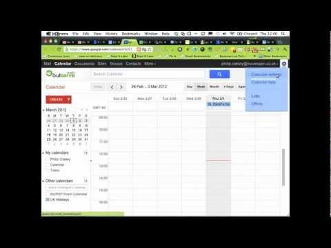 How to set Google Calendar to UK Date Format dd/mm/yyyy
