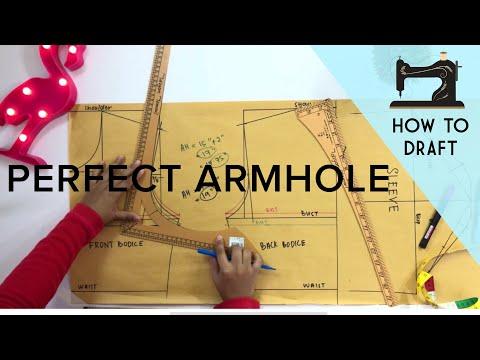 Perfect Armhole Measurement | Drafting Pattern | Lubang Ketiak | Armhole Sloper