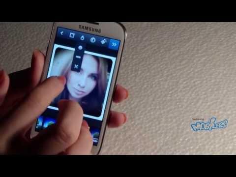 Instagram, Pixlr-o-matic and Photo Studio on Samsung Galaxy S III Mini