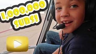1 MILLION SUBSCRIBERS HELICOPTER RIDE OVER THE GRAND CANYON!