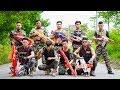 LTT Nerf War SEAL X Warriors Nerf Guns Fight Criminal Group Hunt Alone