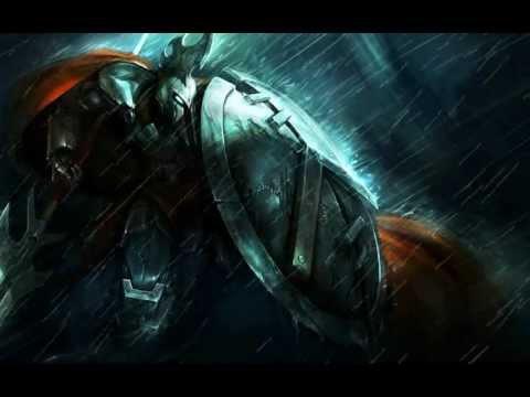 League of Legends custom login screen - Pantheon