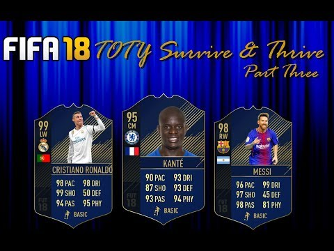 FIFA 18 Survive & Thrive: Team of the Year Pt. 3    Maximizing Your Packs