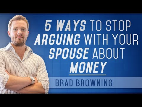 5 Ways To Stop Arguing With Your Spouse About Money