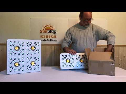 SunPlus USA Pioneer LED Grow Light