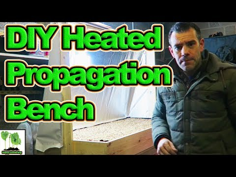 How To Build A DIY Heated Propagation Bench