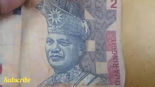 Malaysian Old 2 Ringit Note Price Money 50 Thousand RM