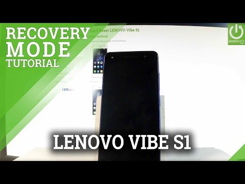 How to Enter Recovery Mode in LENOVO Vibe S1 - Exit Recovery