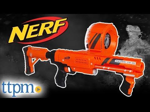 Nerf N-Strike Raider Rapid Fire CS-35 - Dart Blaster from Hasbro