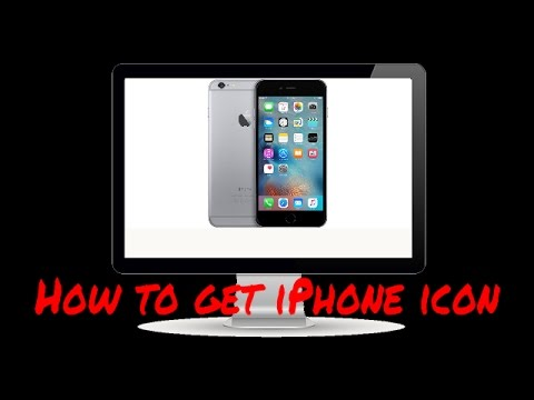 How to get the phone icon on iPod touch