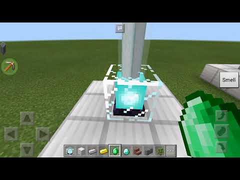 How to activate a beacon in mcpe