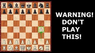 The Grob is TERRIBLE: Here's How to Refute This AWFUL Chess Opening! (No BS)