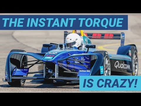 Here's What It's Like To Drive A Formula E Car