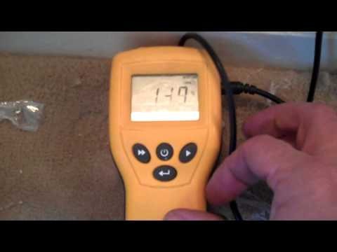 How to use a damp meter properly