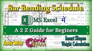 BBS (Bar Bending Schedule) of Retaining Wall | Estimate of